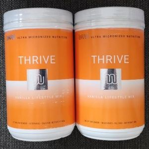 Thrive Level SALE 2 cans of Vanilla-Shake-Canister